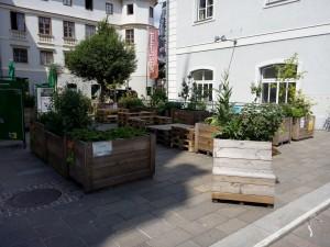 Hochbeete im öffentlichen Raum