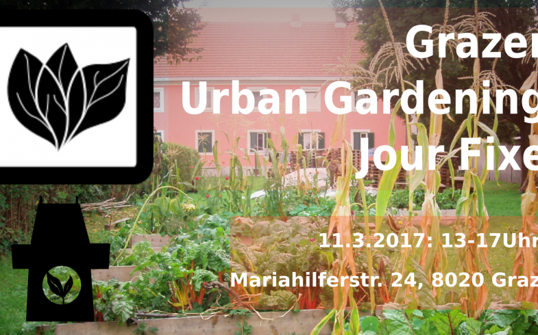 2. Grazer Urban Gardening Jour Fixe