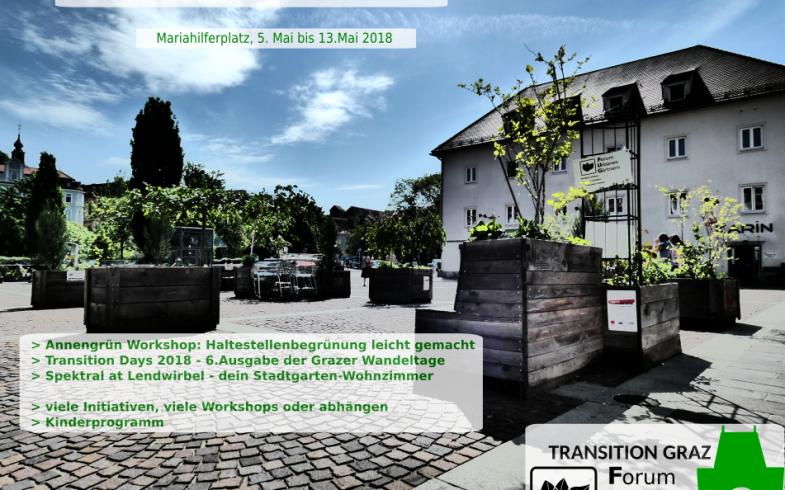 Vorstadtgarten am Grazer Lendwirbel